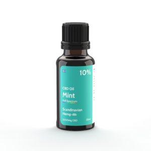cbd oil mint 10% 20ml