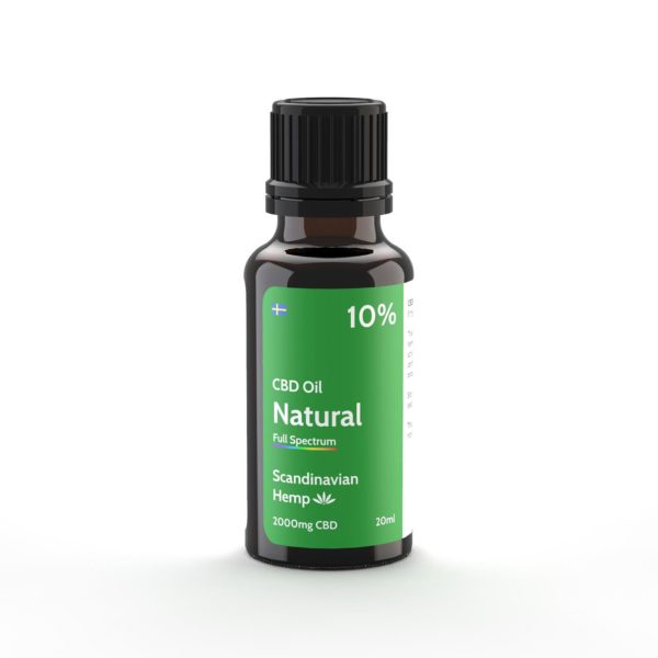 cbd oil natural 10% 20ml
