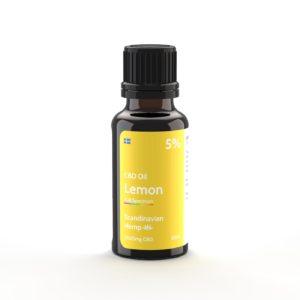 cbd oil lemon 5% 20ml