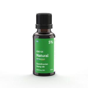 cbd oil natural 5% 20ml