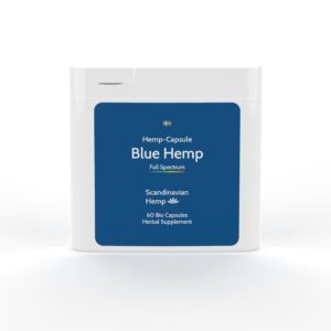 blue hemp capsules